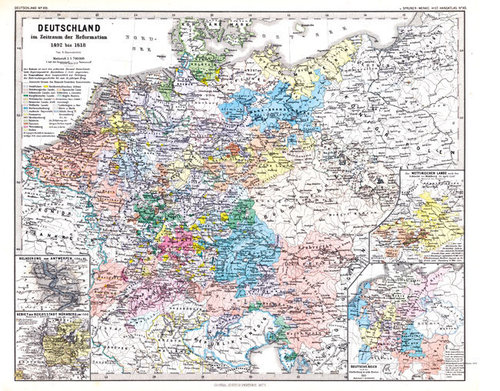 DEUTSCHLAND Reformation 1492-1618 [Reprint]