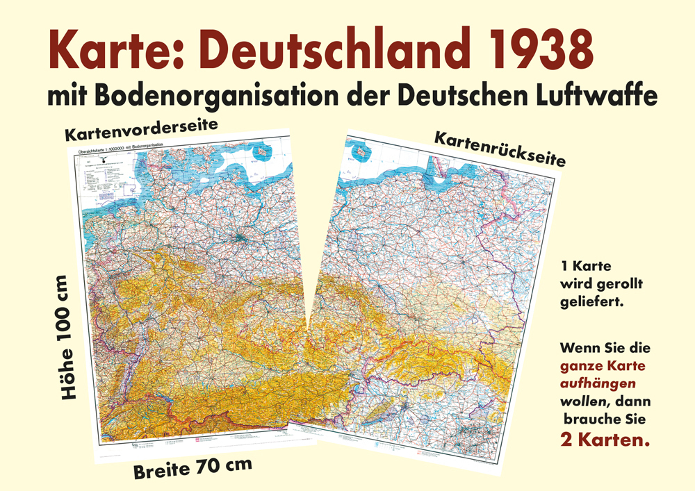 Alte Karte Deutschland 1940.Historische Karte Deutschland Deutsches Reich 1938 1940 Mit