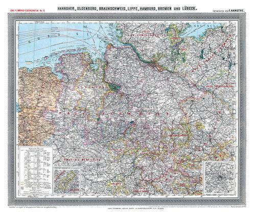 Karte Deutsches Reich 1914.Historische Landkarten Alte Karten Deutschland Weltkarten