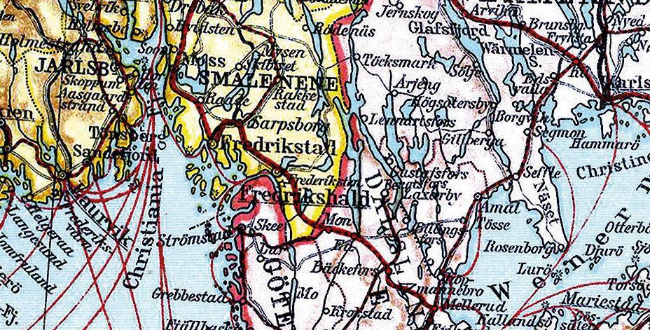 Karte Norwegen Schweden.Historische Karte Schweden Norwegen Finnland Und Danemark